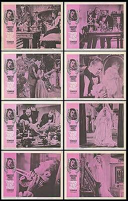 TWICE TOLD TALES original 1963 lobby card set VINCENT PRICE 11x14 movie posters