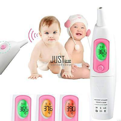 Digital Infrarot Ohr-Thermometer Fieberthermometer Baby STIRNTHERMOMETER