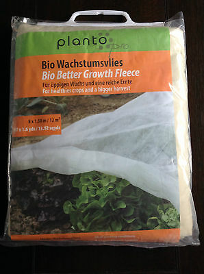 PLANTO PRO BIO BETTER GROWTH FLEECE   8.7 x 1.6yds   no.90431   Frost Protection