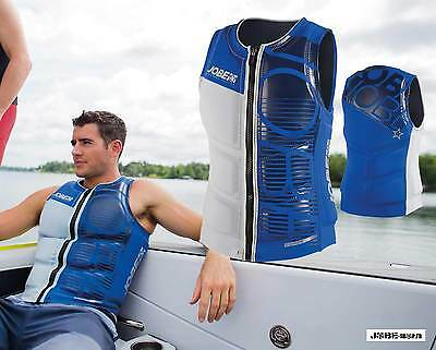 Gilet néoprène Progress Comp Vest Men Blue Jobe - wakeboard - skis