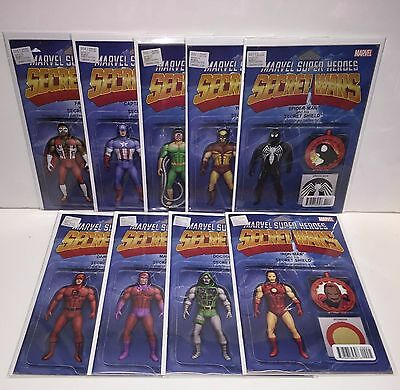 Secret Wars Christopher Action Figure Variant Set 1 2 3 4 5 6 7 8 9 Marvel 2015
