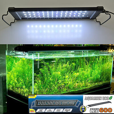AquarienEco Aquarium 30-120cm Over-Head Lamp LED Light Blue / White + Blue
