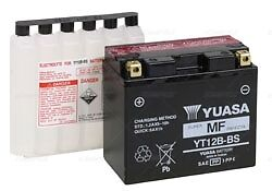 YT12B-BS YUASA Maintenance Free VRLA Battery  Part# YUAM6212B