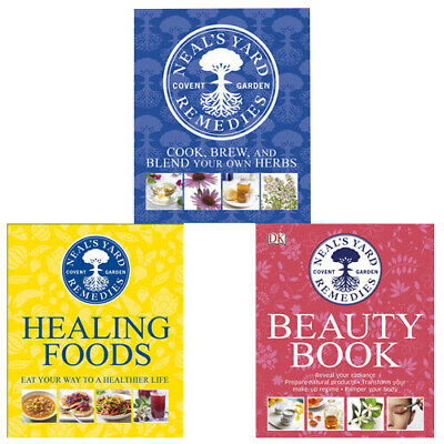 Neal's Yard Remedies 3 Books Collection Set (Neal's Yard Beauty Book) Hardcover