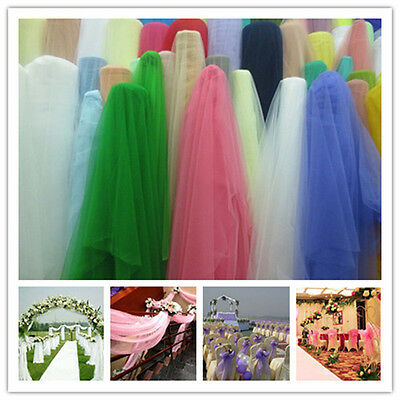 "1-5yd 59""tulle fabric tutu Wedding Decoration sewing trim craft DIY L1701-1712"