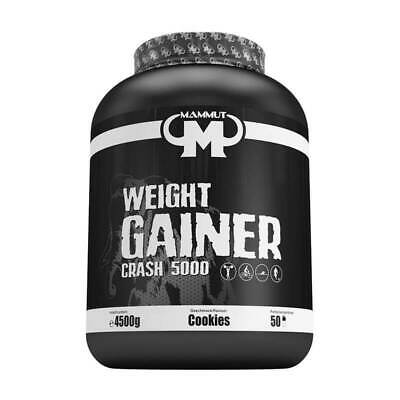 (6,42 EUR/kg) Mammut Nutrition Weight Gainer Crash 5000 4500g Kohelnhydrate NEU
