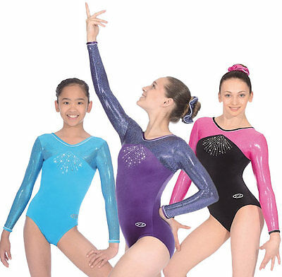 Gymnastics Leotard / Leotards Zone Celestial Long Sleeve