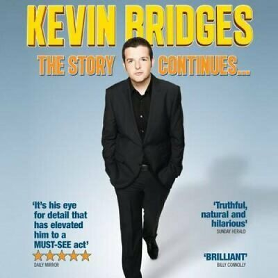 Kevin Bridges - The Story Continues by Kevin Bridges 9781909613171 | Brand New
