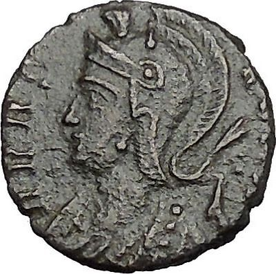 Anonymous VRBS Roma Commemorative 340AD Constantine the Great  Roman Coin i49984