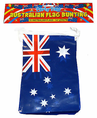 12ft AUSTRALIA AUSTRALIAN AUSSIE DAY PARTY DECORATIONS BUNTING FLAGS F30 585