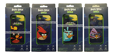 *GEAR4 Clip-On Design ANGRY BIRDS SPACE High Gloss FOR iPHONE 4/4S *YOU CHOOSE*