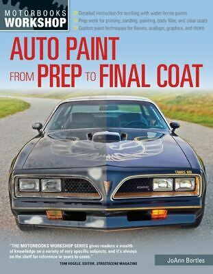Automotive Paint from Prep to Final Coat including water based