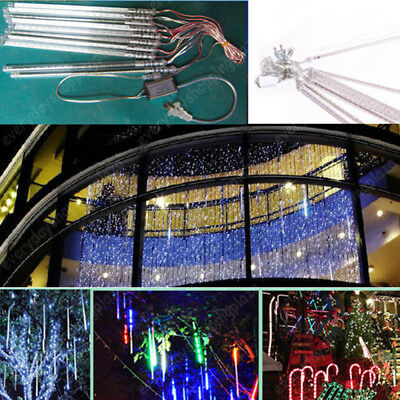 2016 NEW Meteor Shower Star/Rain Drop/Icicle Snow LED Xmas Tree String Lights