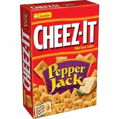 Cheez-It Pepper Jack Baked Snack Crackers