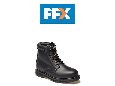 Dickies FA23200 BK 10 Cleveland Super Safety Boot Black Size 10