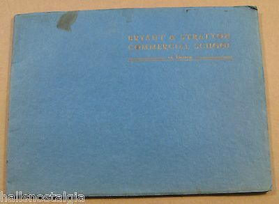 "1930's-1940's (?) ""Bryant & Stratton Commercial School of Boston"" 63-pg Catalog"