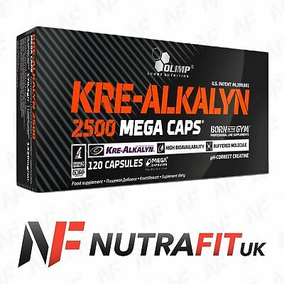 OLIMP KRE-ALKALYN 2500 120 mega caps box buffered creatine monohydrate