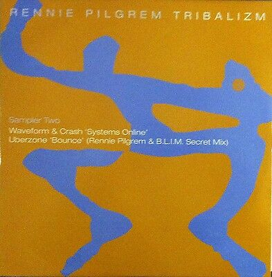 "Rennie Pilgrem Tribalizm (PS) 12"" Vinyl Single"