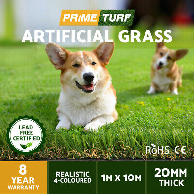 10 SQM Synthetic Turf Artificial Grass Plastic Plant Flooring Fake Lawn 20mm