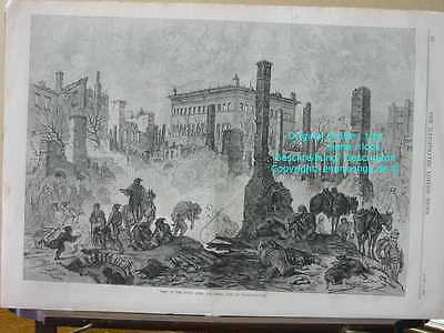 1870 London News-Constantinopel Istanbul Great Fire