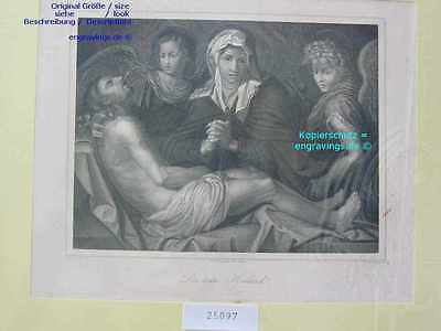 25097-Bibel-Bible-Jesus-Christ-MADONNA-MARIA-VIRGIN-Stahlstich-Steel engraving