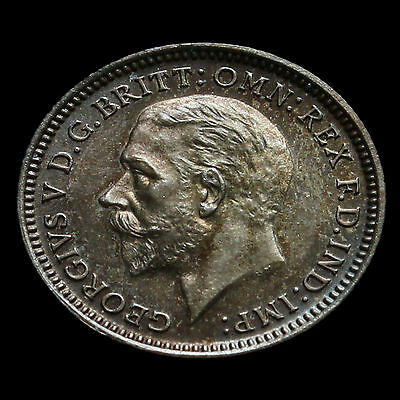 1927 George V Silver Proof Threepence – Scarce  #2