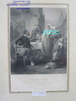 42025-Frankreich-France-Française-ZOUAVE'S STORY-Stahlstich-Steel engraving-1850
