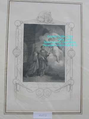 45812-Bibel-Bible-APOSTLES-ANGEL-ENGEL-Stahlstich-Steel engraving-1865