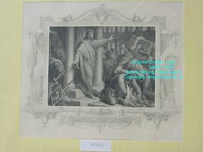 45820-Bibel-Bible-Jesus-CHRIST-PURIFYING-TEMPLE-Stahlstich-Steel engraving-1865