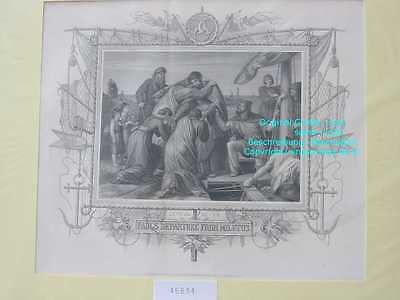 45834-Bibel-Bible-PAUL-from MILETUS-Stahlstich-Steel engraving-1865