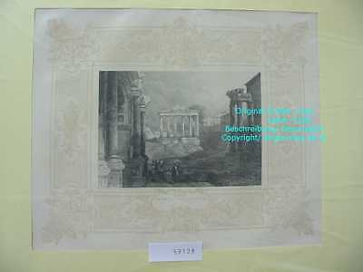 59128-Italien-Italy-Italia-ROM-ROME-ROMA-Forum-Stahlstich-Steel engraving