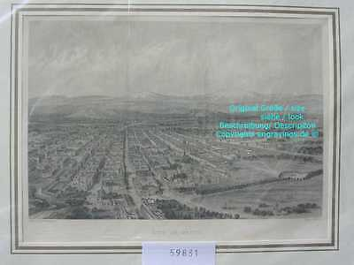 59831-Amerika-America-Mexiko-Mexico City-Stahlstich-Steel engraving-1870