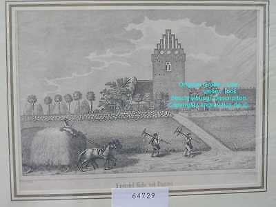 64729-Dänemark-Denmark-Ringsted-Lithographie-Lithography-1866