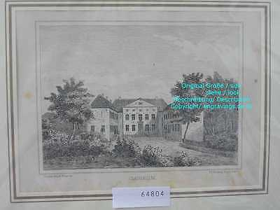 64804-Dänemark-Denmark-Clausholm-Lithographie-Lithography-1875
