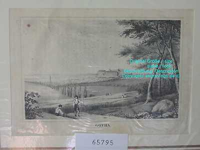 65795-Thüringen-Gotha-Lithographie-Lithography-1870