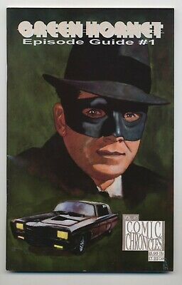 Green Hornet Episode Guide #1 1992 Personality Comics