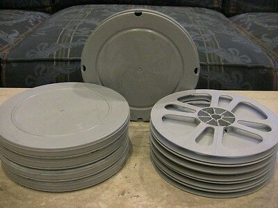FIVE- 400ft 8mm Film movie REEL, CAN SETS - SUPER 8