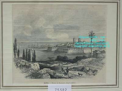 75382-Frankreich-France-Française-Antibes-TH-Wood engraving