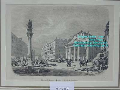 77287-Italien-Italy-Italia-Triest-Trieste-TH-Wood engraving