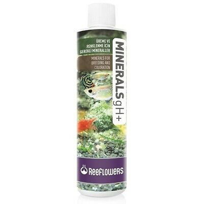 Reeflowers Minerals GH + Plus 85ml 250ml 500ml 1L Tropical Fish Tank Additive