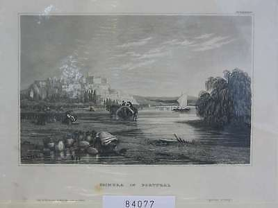 84077-Portugal-Portuguesa-Coimbra-Stahlstich-Steel engraving-1859