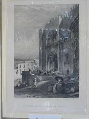 84067-Portugal-Portuguesa-Coimbra-Stahlstich-Steel engraving-1838