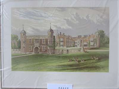 84448-GB-England-Great Britain-Charlscote-Warwickshire-Lithographie-Lithography