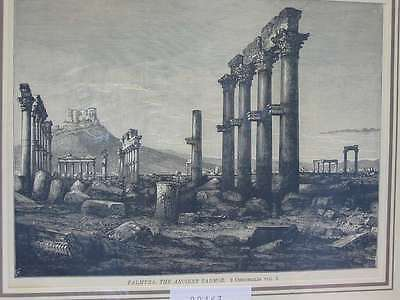 82463-Asien-Asia-Syrien-Syria-Palmyra-T Holzstich-Wood engraving