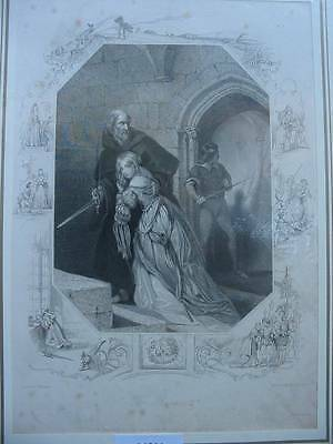 86358-Findens Tableaux-The Rescue-Stahlstich-steel engraving
