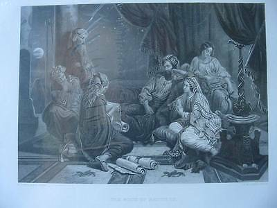 86300-Bibel-Bible-The Book of Records-Stahlstich-Steel engraving