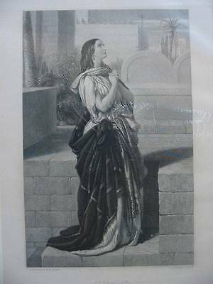 86293-Bibel-Bible-Adoration-Stahlstich-Steel engraving