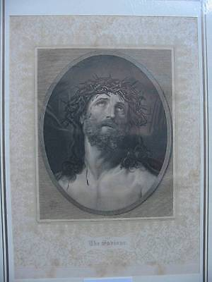 86619-Bibel-Bible-Biblisches-Jesus-Christ-Ecce Homo-Stahlstich-Steel engraving