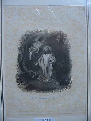 86618-Bibel-Bible-Biblisches-Jesus-Christ-Engel-Angel-Stahlstich-Steel engraving