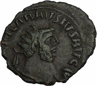 CARAUSIUS 286AD London RARE Authentic Ancient Roman Coin PAX Peace i53552